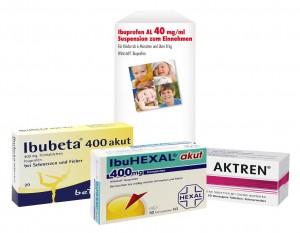 Schmerzmittel gegen Zahnschmerzen mit Ibuprofen