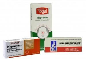 Schmerzmittel gegen Zahnschmerzen mit Naproxen