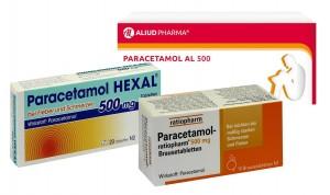 Schmerzmittel gegen Zahnschmerzen mit Paracetamol